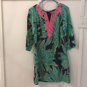 Lily Pulitzer size 2 Silk Dress